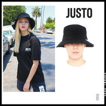 JUSTO Unisex Street Style Wide-brimmed Hats