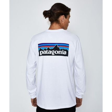 Patagonia Long Sleeve Crew Neck Long Sleeves Cotton Long Sleeve T-Shirts 2