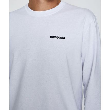Patagonia Long Sleeve Crew Neck Long Sleeves Cotton Long Sleeve T-Shirts 3