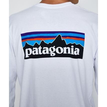 Patagonia Long Sleeve Crew Neck Long Sleeves Cotton Long Sleeve T-Shirts 4