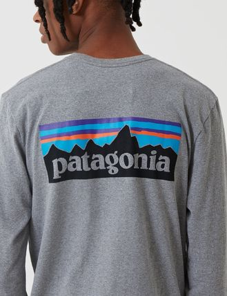 Patagonia Long Sleeve Crew Neck Long Sleeves Cotton Long Sleeve T-Shirts 6