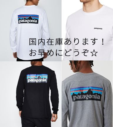 Patagonia Long Sleeve Crew Neck Long Sleeves Cotton Long Sleeve T-Shirts
