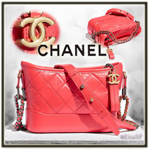 CHANEL MATELASSE Calfskin 2WAY Chain Plain Elegant Style Shoulder Bags