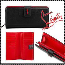Christian Louboutin Paloma Leather Long Wallets