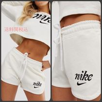 Nike Short Casual Style Street Style Plain Cotton