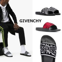 GIVENCHY Bi-color Shower Shoes Shower Sandals