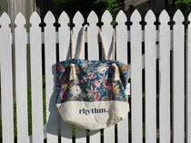 Rhythm Flower Patterns Tropical Patterns Totes