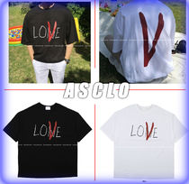 ASCLO Street Style Cotton T-Shirts
