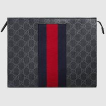 GUCCI Unisex Leather Clutches