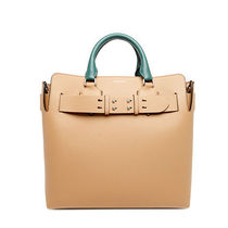 Burberry London Street Style Plain Leather Totes