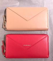 BALENCIAGA PAPIER A4 Plain Leather Long Wallets