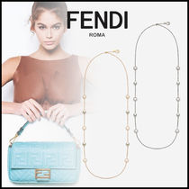 FENDI Costume Jewelry Chain Elegant Style Necklaces & Pendants