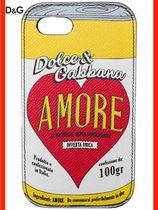 Dolce & Gabbana Unisex Street Style Leather Smart Phone Cases
