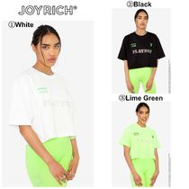 JOYRICH Crew Neck Unisex Short Sleeves Crew Neck T-Shirts