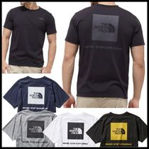 THE NORTH FACE Crew Neck Pullovers Plain Short Sleeves Crew Neck T-Shirts