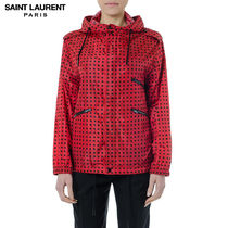 Saint Laurent Short Star Casual Style Outerwear