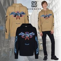 GIVENCHY Street Style Other Animal Patterns Cotton Sweatshirts