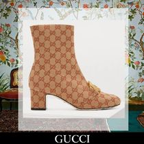 GUCCI Elegant Style Ankle & Booties Boots