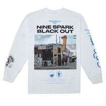 VLONE Crew Neck Unisex Street Style Long Sleeves Cotton