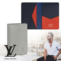 Louis Vuitton EPI Street Style Plain Leather Card Holders