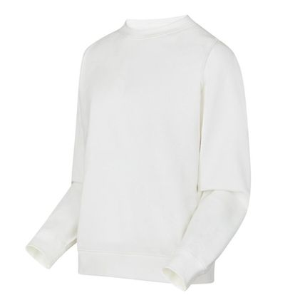 Louis Vuitton Sweatshirts Crew Neck Blended Fabrics Street Style Long Sleeves Plain 4