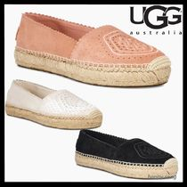 UGG Australia Round Toe Casual Style Suede Flats