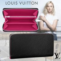 Louis Vuitton EPI Bi-color Leather Long Wallets