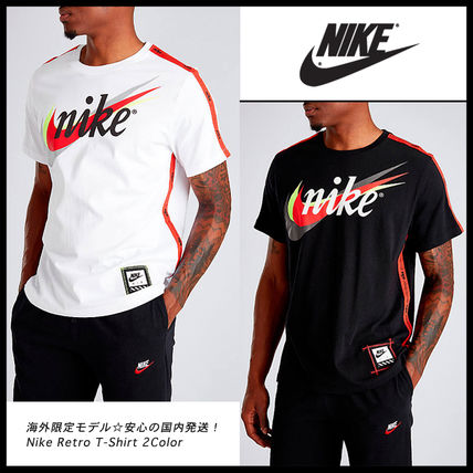 Nike More T-Shirts Street Style Cotton Short Sleeves T-Shirts