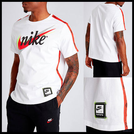 Nike More T-Shirts Street Style Cotton Short Sleeves T-Shirts 2