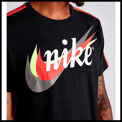 Nike More T-Shirts Street Style Cotton Short Sleeves T-Shirts 8