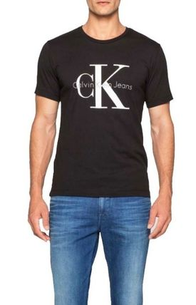 Calvin Klein Crew Neck Crew Neck Plain Cotton Short Sleeves Crew Neck T-Shirts 6