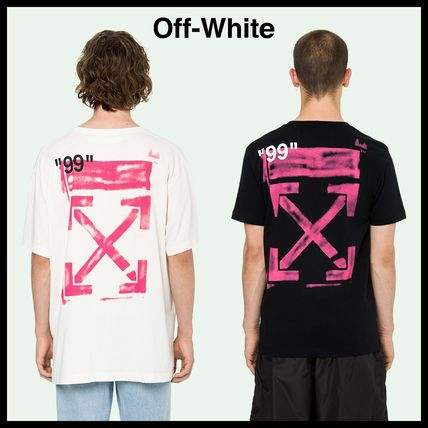 Off-White More T-Shirts Street Style Cotton T-Shirts