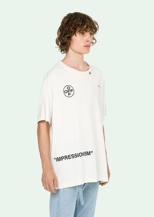 Off-White More T-Shirts Street Style Cotton T-Shirts 14