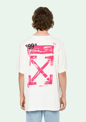 Off-White More T-Shirts Street Style Cotton T-Shirts 16