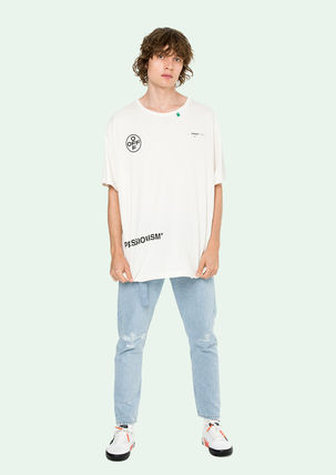 Off-White More T-Shirts Street Style Cotton T-Shirts 18