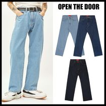 OPEN THE DOOR Street Style Jeans & Denim