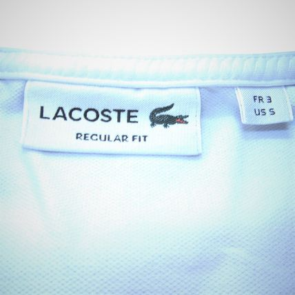 LACOSTE Polos Pullovers Stripes Cotton Short Sleeves Polos 5