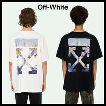 Off-White Street Style Cotton Oversized T-Shirts
