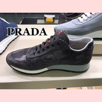 PRADA Camouflage Low-Top Sneakers