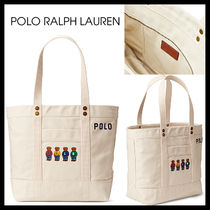 POLO RALPH LAUREN Casual Style Unisex Totes