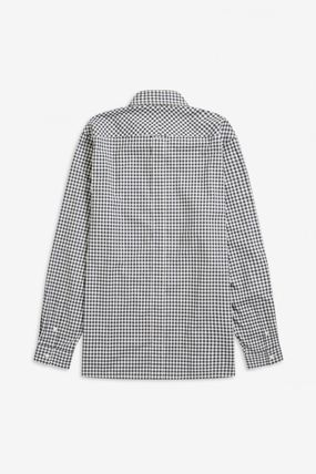 FRED PERRY Shirts Gingham Cotton Shirts 15