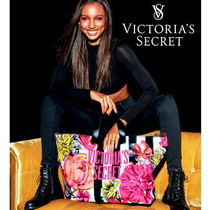 Victoria's secret Flower Patterns Casual Style Canvas Totes