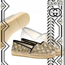 GUCCI Platform Plain Toe Other Animal Patterns Leather