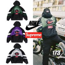 Supreme Unisex Street Style Collaboration Jackets