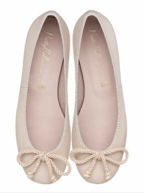Round Toe Plain Leather Party Style Flats