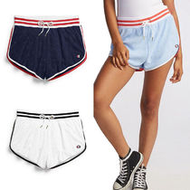 CHAMPION Short Street Style Cotton Denim & Cotton Shorts
