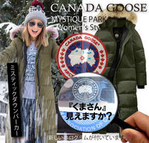 CANADA GOOSE MYSTIQUE Medium Down Jackets