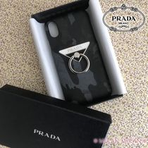 PRADA SAFFIANO LUX Leather Smart Phone Cases