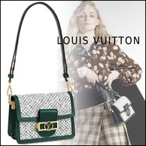 Louis Vuitton MONOGRAM Monogram Casual Style Leather Shoulder Bags
