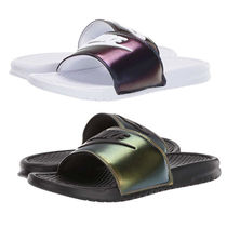 Nike BENASSI Street Style Shower Shoes Shower Sandals
